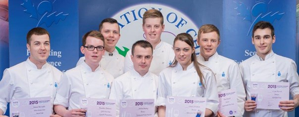 Ayrshire College modern apprentices step up to the plate!
