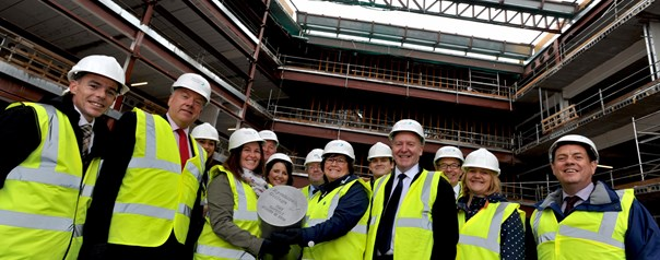 One year to go until new college campus opens