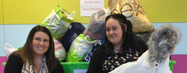 Student Association holds donation drive for refugees