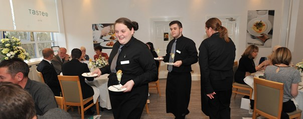Ayrshire students offer the very best in hospitality