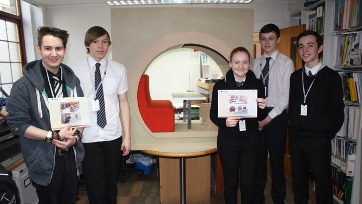 Competition winners progress on Ayrshire College project
