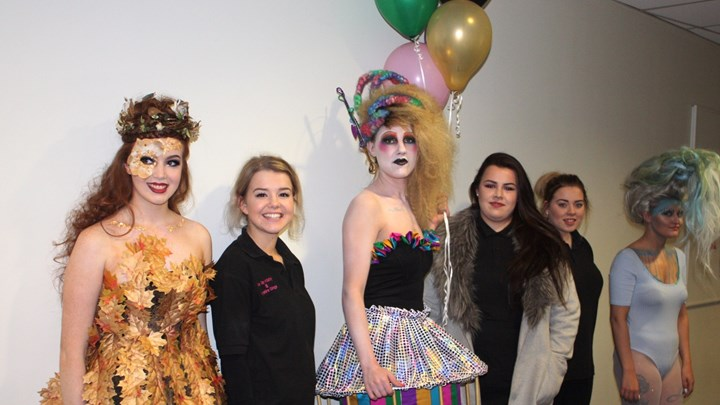 Ayrshire College students compete in make-up contest