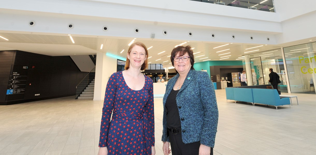 Education Minister pleased with Ayrshire College role in Open University programme