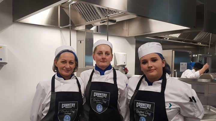 Ayrshire Chef students' taste victory at national competition