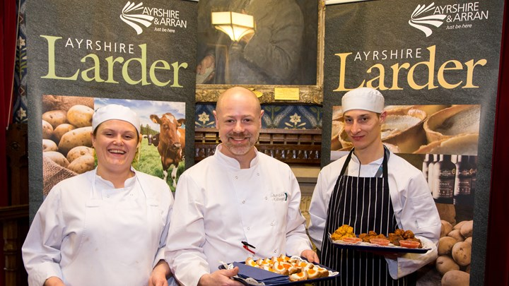 Students showcase Ayrshire at Westminster