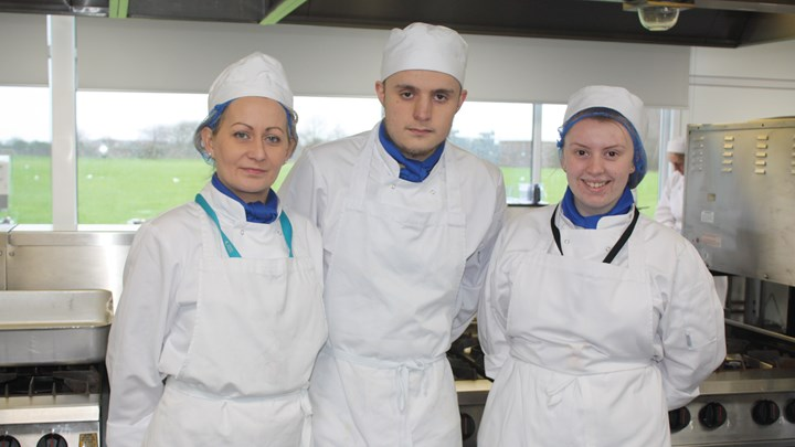 Professional Cookery students add specials to local menu