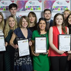 Ayrshire College marketing team with additional college staff.jpg