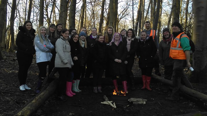 Ayrshire College students have an outdoor learning experience
