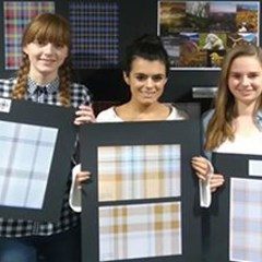 Fashion students tartan competition.JPG