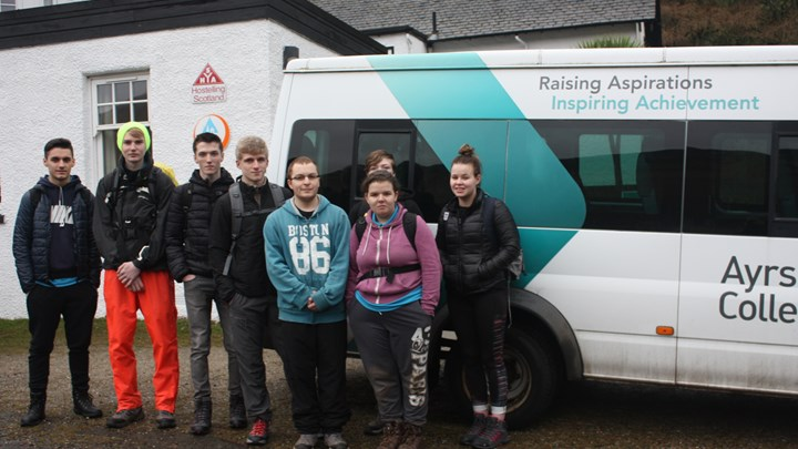 Ayrshire College partners with SYHA for valuable volunteer experience