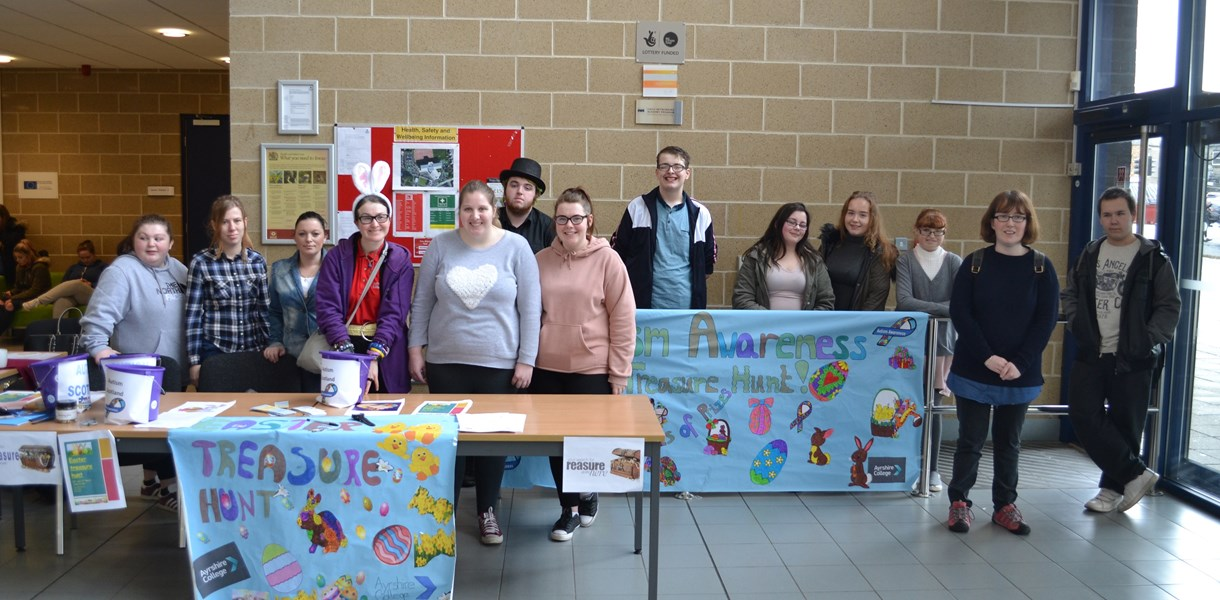 Ayrshire College raises awareness of autism