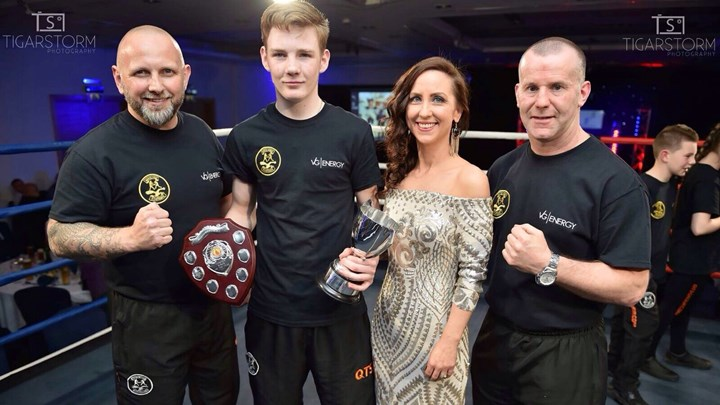 Ayrshire boxer builds promising future