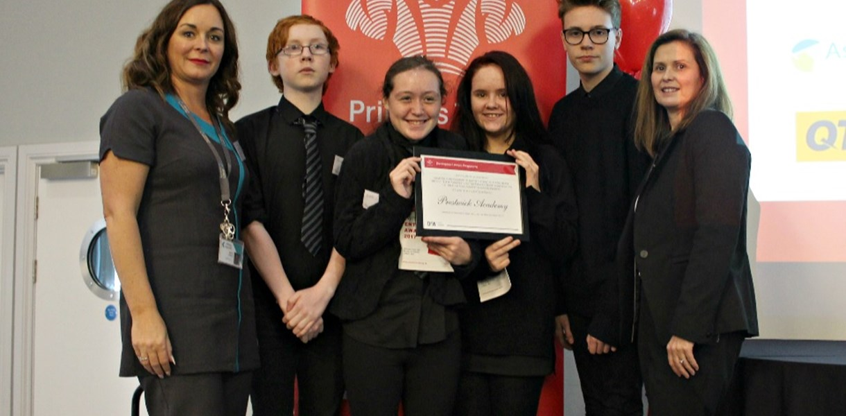 Ayrshire Schools celebrate DYW Projects success