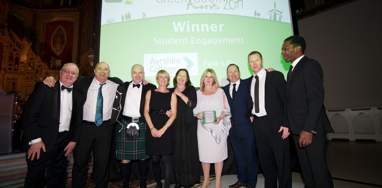 Ayrshire College nominated for Green Gown Award