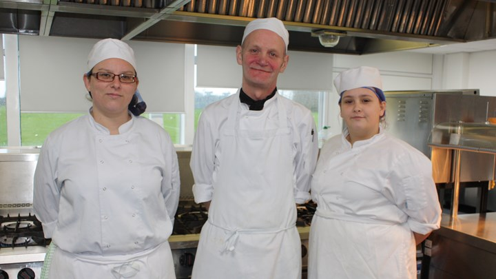 College Hospitality team cooking competition success