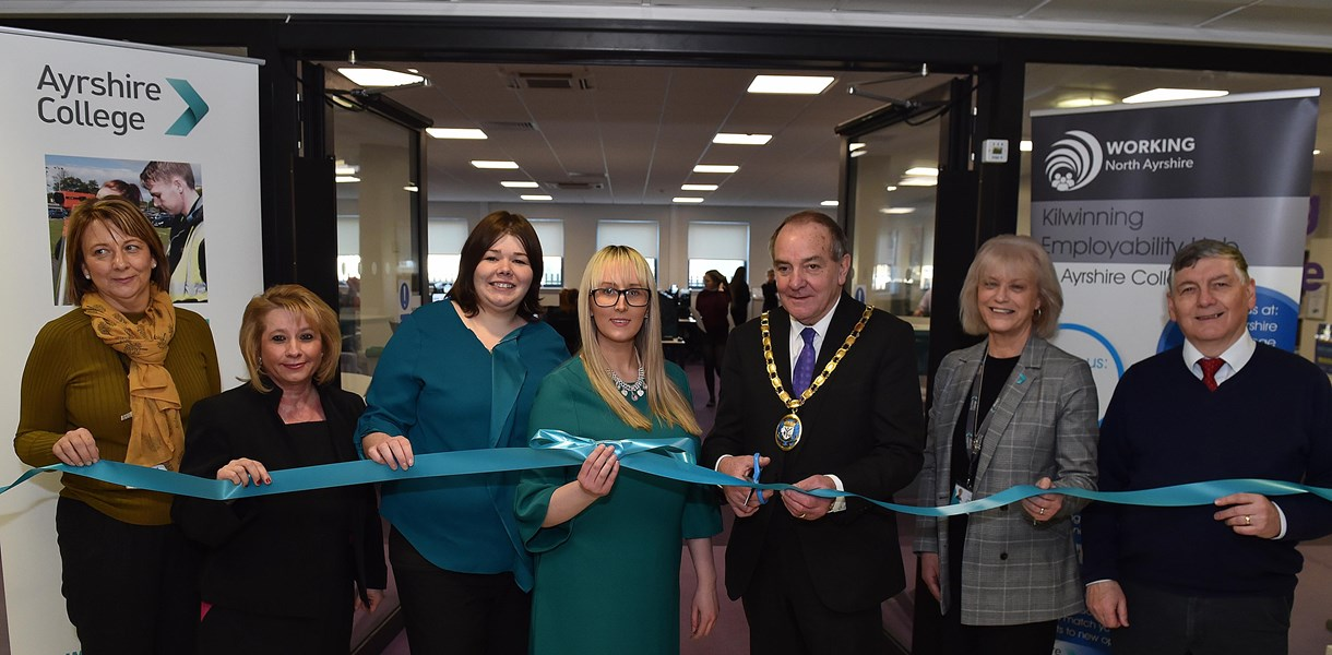 Employability Hub opens in Ayrshire College