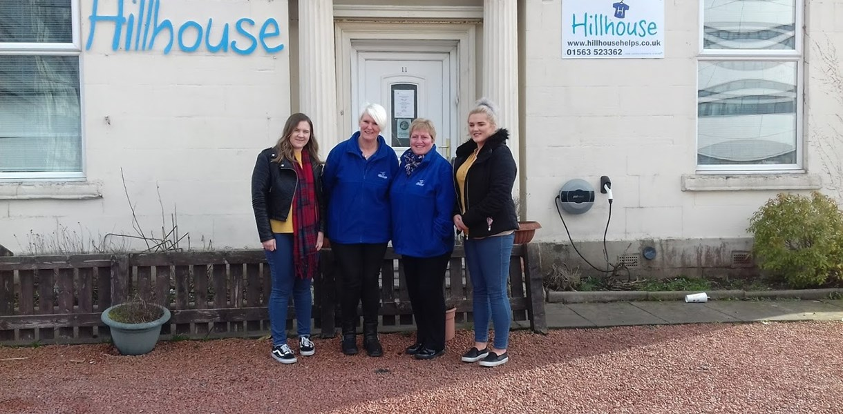College business students raise money for Hillhouse