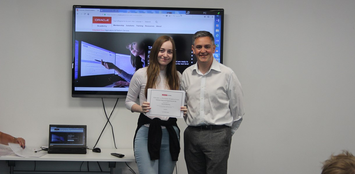 Ayrshire College students earn international computing certificates