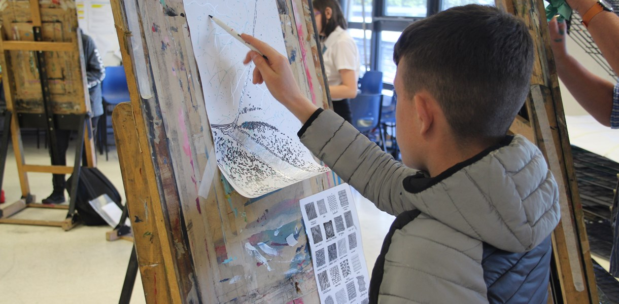 Creative options explored at Ayrshire College