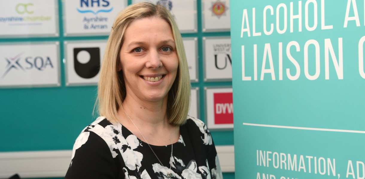 New Alcohol and Drug Liaison Officer appointed at Ayrshire College