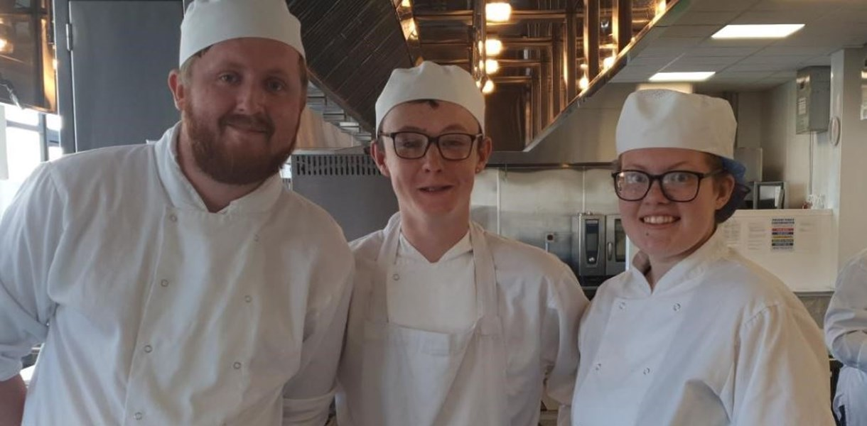 Professional Cookery students have the winning recipe