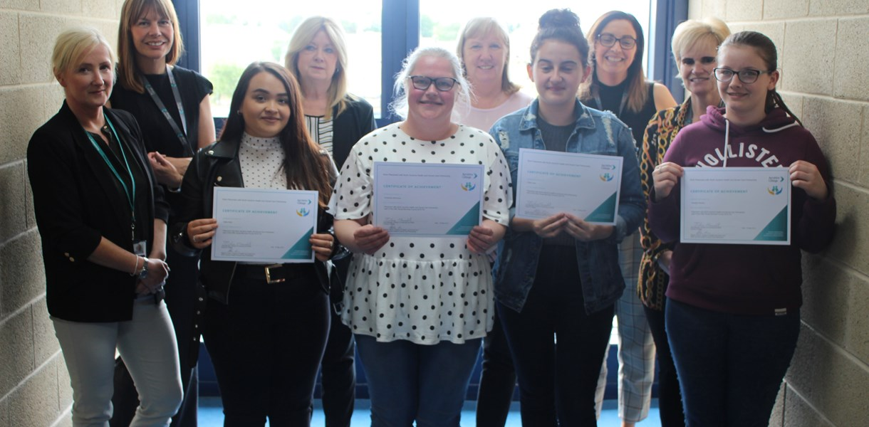 Social Services students finish placements