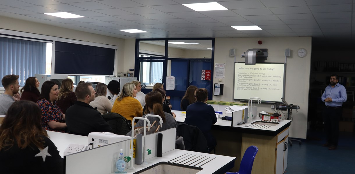 Primary teachers gain STEM knowledge at Ayrshire College