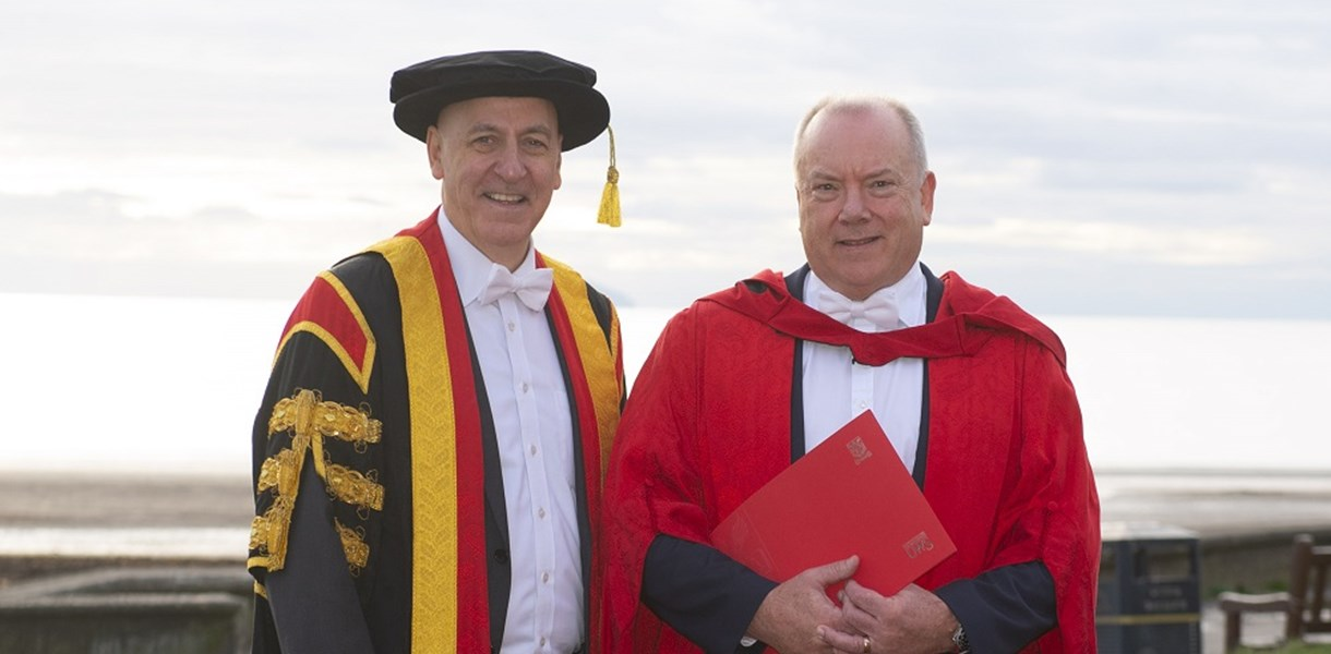 UWS Honorary Doctorate for Ayrshire College Chair