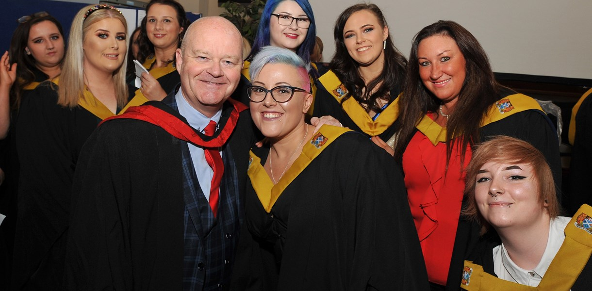Last chance to sign up for Ayrshire College graduation