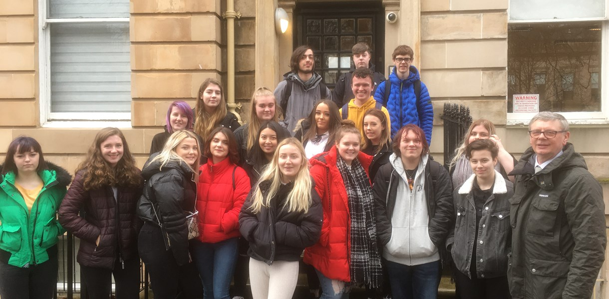 Field trip to Glasgow for Social Science students