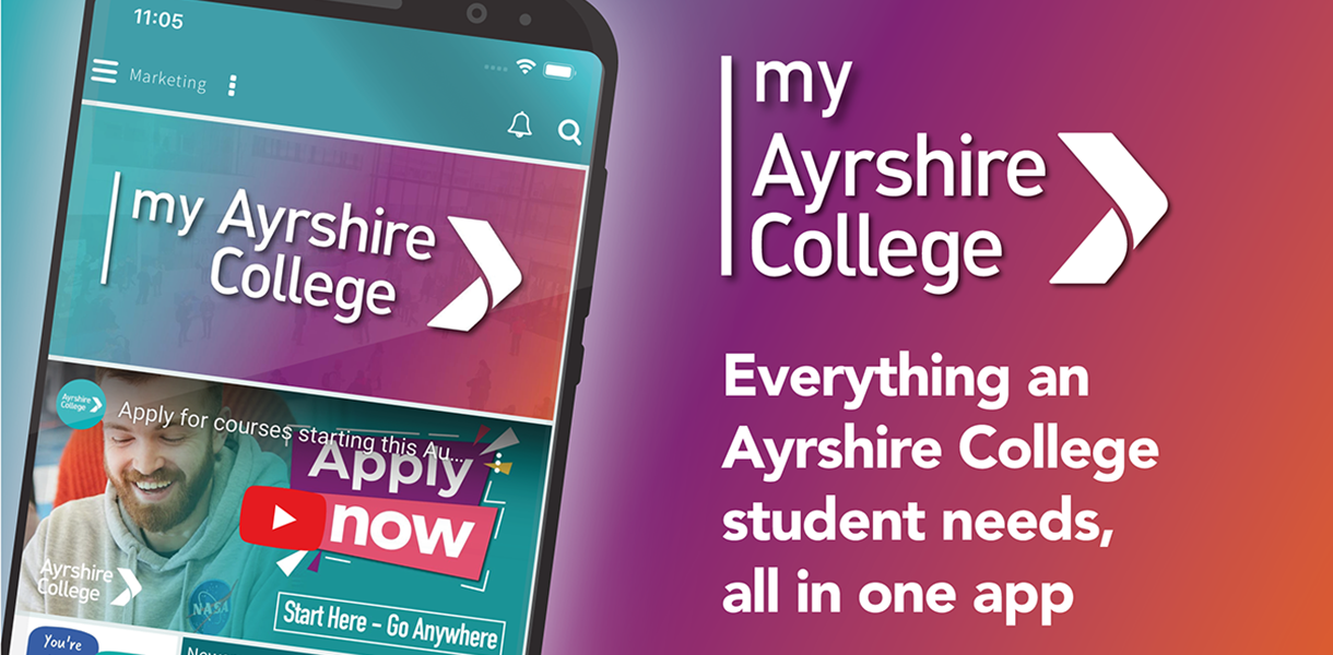 Ayrshire College releases app for students